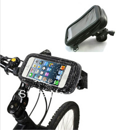$enCountryForm.capitalKeyWord Canada - New WaterProof Motorcycle Bike Phone Holder Bicycle Handlebar Mount Waterproof Case Support For iphone 6S Plus for Samsung Galaxy Note 5