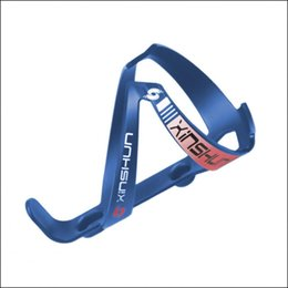 Wholesale Bicycle Cup Holder Canada - XINSHUN Bicycle Bottle Holder Nylon + Carbon Bicycle Bottle Cage Mountain road bike bottle holder Silver Water Cup holde Bicycle Accessories