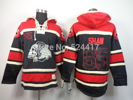 $enCountryForm.capitalKeyWord NZ - Factory Outlet, 2014 cheap stitched chicago blackhawks #65 ANDREW SHAW Lace Up Pullover Men's ice hockey hoodies  Hooded Sweatshirts