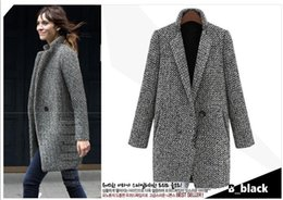 Discount Grey Wool Coats For Women | 2017 Grey Wool Coats For ...