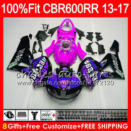 color honda repsol 2019 - Injection Body For HONDA CBR 600 RR CBR600RR Repsol purple 13 14 15 16 17 89NO28 CBR 600RR F5 CBR600 RR 2013 2014 2015 2