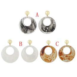 Amber chandelier earrings online shopping amber chandelier idealway new arrived 3 colors women fashion amber pattern circular acrylic long drop dangle earrings jewelry aloadofball Image collections