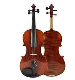 Natural Violin Canada - 2015 New Arrival Tianyin Brand Independent Board Violin Advanced Natural Tiger Stripe Violin Solo Playing Violin