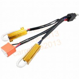 2pc 50w h4 h l hid xenon warning canceller discount h4 hid harness 2017 h4 hid wiring harness on sale at Custom Auto Wire Harness H4 at aneh.co