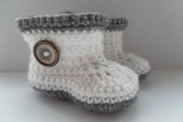 $enCountryForm.capitalKeyWord NZ - 2015 Comfortable Fashion Cute Baby Girls Woolen Warm White and grey Handmade Knit High-top Tall Boots Shoes 0-12M custom