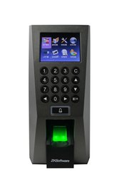 biometric fingerprint systems Canada - RFID Access Control Reader And Fingerprint Door Lock Biometric Recognition System With TCP IP RS485 232 Interface F18