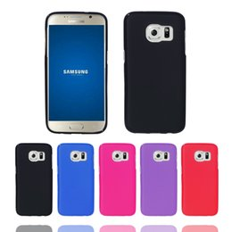 Samsung Cell Phone Sales Canada - 2016 Hot Sale Newest Free Shipping Wholesale Ultra Thin Soft TPU CELL PHONE CASE Anti-knock With Retail Packaging For Samsung Galaxy S7