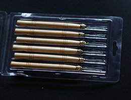 Wholesale 48 pieces per lot, Micro Ring Hair Extension Wooden Pulling Needle Threader Feather Hook Tool+Free shipping