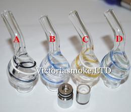 $enCountryForm.capitalKeyWord NZ - Newest Ribbon Glass atomizer with doughtnut Ceramic coils dry herb vaporizer pen vapor cigarettes ribbon glass atomzier for evod ego t