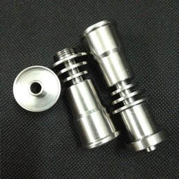 $enCountryForm.capitalKeyWord Canada - Factory Direct Sales Hookah Titanium Nail 14mm 16mm 18mm Universal Hookah Accessories glass bong titanium domeless nail gr2