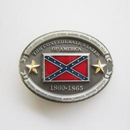 Discount novelty rebel flags - Men Belt Buckle Oval American Rebel Star Belt Buckle BUCKLE-WT094 Gurtelschnalle Boucle de ceinture Free Shipping