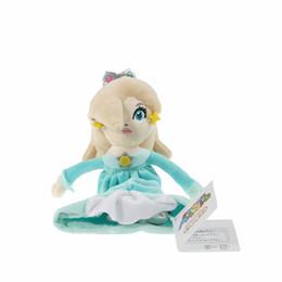Mario Rosalina Plush Toys UK - Wholesale-High quality Princess Rosalina 18cm Super Mario Bros Plush Doll Toy Collectible