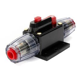 Vente en gros 2015 nouveau fusible en ligne de disjoncteur audio stéréo de voiture de CC 12V 100AMP 100A commandent $ 18no track