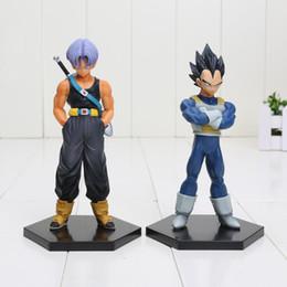 Discount doll vegeta - 6'' 15cm Anime DXF Dragon Ball Z Trunks Vegeta PVC Action Figure Toy Model Collection Dolls New