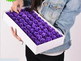 $enCountryForm.capitalKeyWord NZ - Rose Soaps Flower Packed Wedding Supplies Gifts Event Party Goods Favor Toilet fake rose soap bathroom accessories SR012