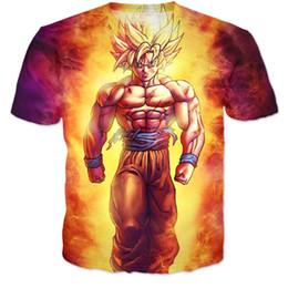 $enCountryForm.capitalKeyWord Canada - Anime Dragon Ball Z Super Saiyan T-Shirt 3d Women Men Summer Style tops tee