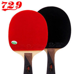 Toptan satış Toptan-729 3 Yıldız Masa Tenisi Pingpong Yarasa Masa Tenisi Raketleri Pingpong Paddles Tenis De Mesa 87022