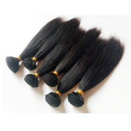 short brazilian hair styles UK - New Short Bob Style 8-18inch Brazilian Indian remy Hair extensions Soft silky staright hair Mongolian human hair double weft in stock