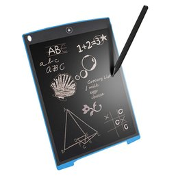 Usb sensor board online shopping - 8 inch LCD Writing Tablet Drawing Board Blackboard Handwriting Pads Gift for Kids Paperless Notepad Tablets Memo With Upgraded Pen