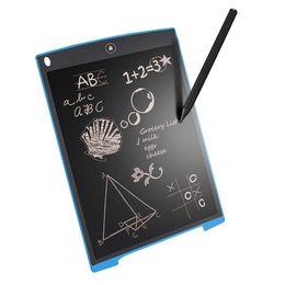 8,5 pulgadas LCD Tableta de dibujo Tablero de dibujo Pizarra Cojines de escritura a mano Regalo para niños Bloc de notas sin papel Tabletas Memo Con pluma mejorada