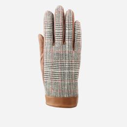Wholesale Wholesale-2015 New Arrival Men Gentleman Wool gloves Male Cashmere Gloves