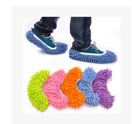 Free Slippers Canada - Free shipping Chenille lazy slippers women home house unisex lazy slippers Clean the floor can unpick and wash clean slippers yzs168