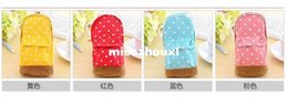$enCountryForm.capitalKeyWord Australia - Stationery Multifunctional big capacity pencil case Dot school bag pattern Cute storage box