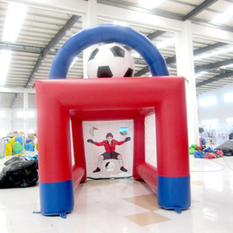 Football Games For Kids Canada - hot sale Inflatable football game kids playground inflatable sport game inflatable toy for kids for sale made in China