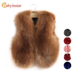 4f3641d75e81 Girls Black Faux Fur Vest Canada