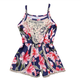 d595684d810c Boutique Girls Clothing Lovely Infant Baby Girl Clothes Sleeveless Lace  Floral Romper Jumpsuit Outfits Sunsuit Clothes Kids One Piece Suit