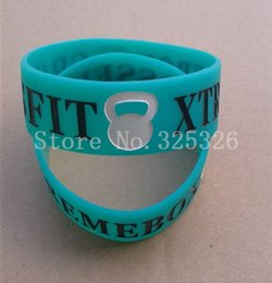 Sports Texts Canada - 500PCS Customized Green Rubber Silicone Wristband debossed Concave text for Event or promotional gifts bands DHL Free Fast Ship