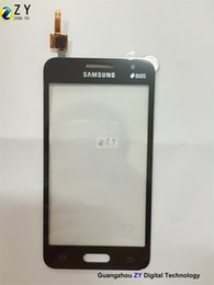 Samsung Duos Touch Screen NZ - touch screen digitizer For samsung Galaxy Core 2 G355h   Core 2 Duos G355 ZY TOUCH