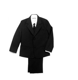 Navy Suits For Sale Australia - Hot sale little boys suits for wedding fashion boys formal occasion suits tuxedos three-piece boys suits(jacket+pants+vest+tie)