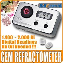 venda por atacado Atacado-Digital Gemologia Gemstone 1.4 ~ 2.0 RI Gemological Diamante Jóia Gem Refratômetro