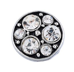 $enCountryForm.capitalKeyWord Canada - DIY woman jewelry NOOSA Amsterdam 13mm mini crystal round noosa Interchangeable Snap Buttons DIY Jewelry Ginger Snap button Hot sale Jewelry