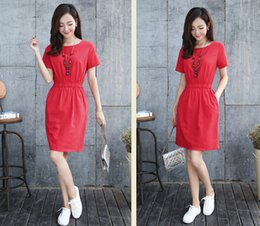 $enCountryForm.capitalKeyWord Canada - 2016 summer Han Guodong door dress restoring ancient ways is han edition cultivate one's morality contracted breathable cotton dress with sh