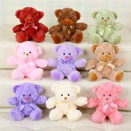 Discount figure bear - Teddy Bears Plush Toys Gifts Stuffed Plush Animals Teddy Bear Stuffed Dolls Kids Small Teddy Bears Wholesale