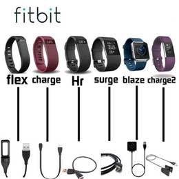 wristband for fitbit one Canada - For Fitbit Flex  HR  Charge  Surge  Blaze  One  Force  Alta USB Charging Cable Standard Fitbit Charger Cable