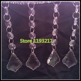 "$enCountryForm.capitalKeyWord Canada - 4.7""(12cm) 20""(50cm) Crystal Glass Octagonal Bead Garland Strands Acrylic Drop Pendant Chandelier Hanging Bead Chains Wedding Decor"