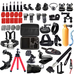 Chinese  Freeshipping kit Case For GoPro Hero 5 4 3 SJCAM Sj4000 Xiaomi Yi Eken H9 H9R Mount Clip Tripod Action Camera Accessories manufacturers