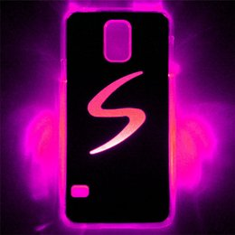 accessories for s5 2019 - LED Phone Cases LED Cell Phone Cover for Samung galaxy S5 LED Lighted Cases 7 colors LED Cases LED Cell Phone Accessorie