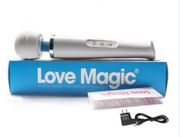 HitacHi sex toys online shopping - Rechargeable Cordless Magic Wand Massager w Hitachi Head Speed AV Vibrator Powerfull Vibration Full Body Massager Sex Toys