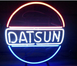 """Car Bar Signs Canada - DATSUN HOLDEN Neon Sign Custom Handmade Real Glass Tube Japan Cars Vehicles Company Dealer Store Advertisement Display Neon Signs 14""""X17"""""""