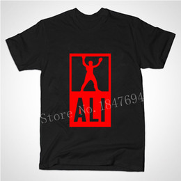 Chinese  Wholesale-New Summer Mens MUHAMMAD ALI T Shirts Men Sport Fitness Casual clothing MMA Short Sleeve Tshirt manufacturers