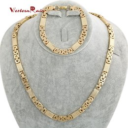 Discount Gold Necklace Dubai 2018 Dubai Gold Necklace Sets on Sale
