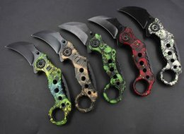 Fox Tactical Gear Australia - 5 models best karambit fox claw knife folding blade training hunting knife outdoor gear survival knives xmas gift for friends sports knives
