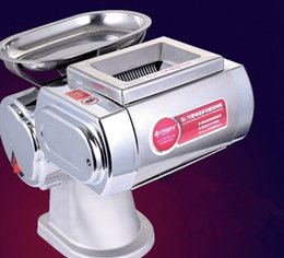 small cut cutter NZ - Wholesale - Free shipping NEW 220V Small meat slicer, meat cutting machine , meat cutter, Widely used in the restaurant