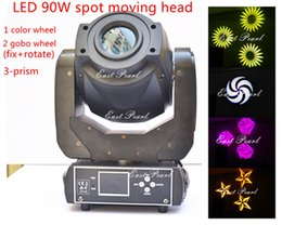 $enCountryForm.capitalKeyWord Canada - 1pc led 90w white moving head spot gobo light color gobo wheels 3 faced prism rotating replaceable gobos DMX sound auto for dj stages, shows