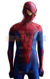 $enCountryForm.capitalKeyWord Canada - (LP232)2015 The Amazing Spider-man Costume 3D Original Movie Halloween Cosplay Spandex Spiderman Zentai Suit Superhero Costume