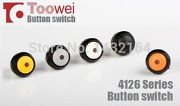 $enCountryForm.capitalKeyWord NZ - 20pcs 12mm LED pushbutton switch waterproof Latching switch 5A 250V IP67 Round top